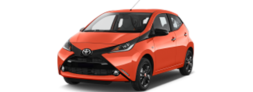 Toyota Aygo  cheap rental car oneway Frankfurt am Main